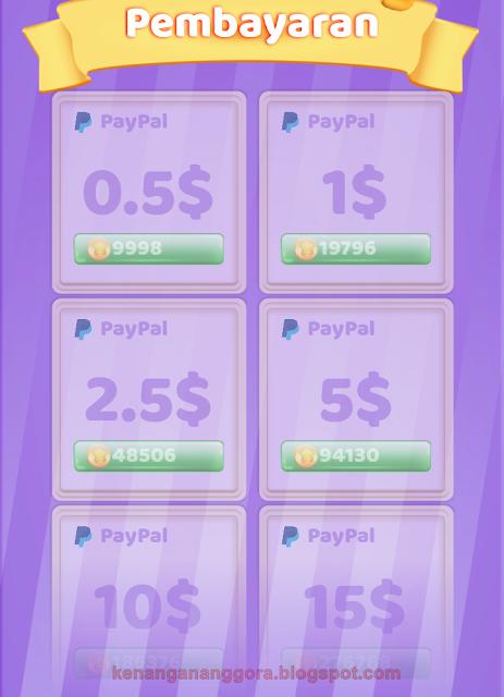 Uang Dari Hp dengan Coin Pop