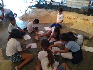 """Exposição """"Mar Profundo"""" recebe visitas de escolas e grupos"""