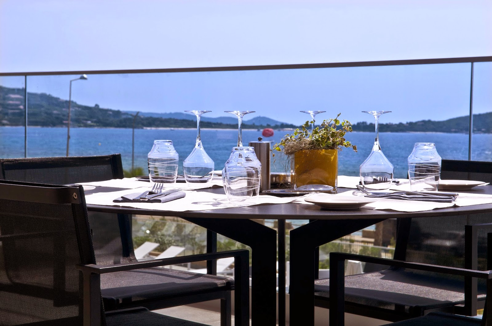 Terrasse du Radisson Blu Resort & Spa Ajaccio Bay