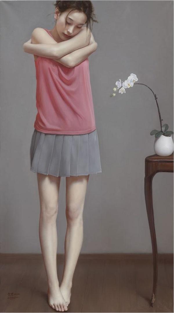 Impressioni Artistiche : ~ Li Guijun ~ | Artisti, Ritratti