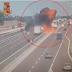 Explosão violenta de camião cisterna faz 2 mortos e dezenas de feridos