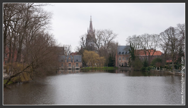 Brujas Minnewater Bélgica