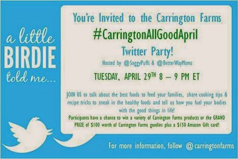 carrington farms twitter partyy banner
