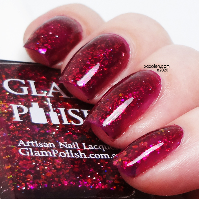 xoxoJen's swatch of Glam Your Eyes Can Be So Cruel