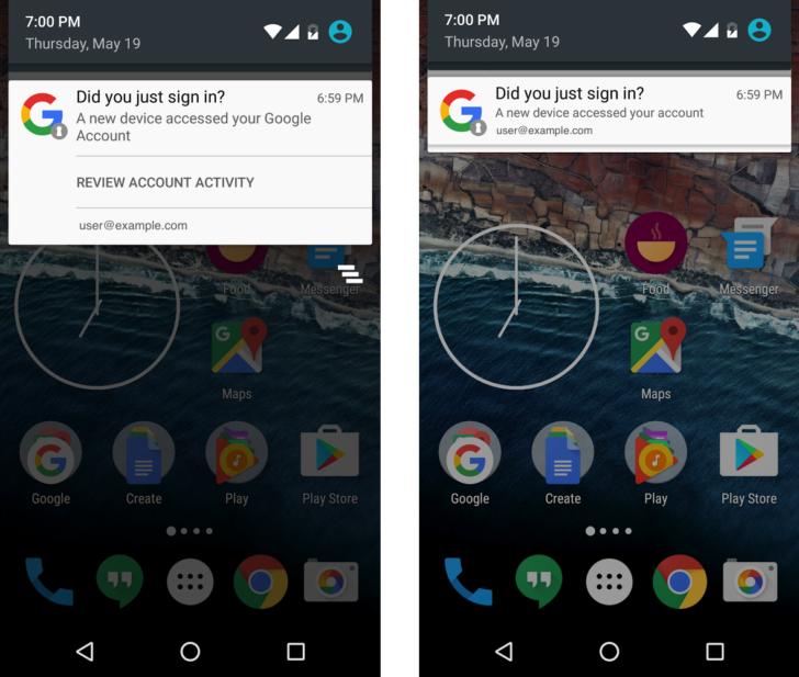 Google sostituisce le mail con notifiche per gli avvisi di accessi al proprio Account HTNovo