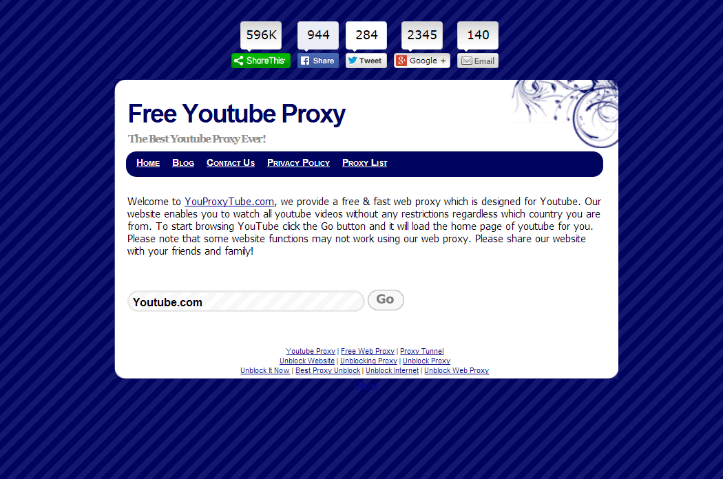 Free Web Proxy to Unblock YouTube Proxy | ProxyPx