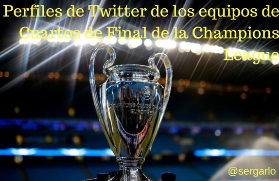 Twitter, redes sociales, social media, Champions League, Cuartos, Fútbol,