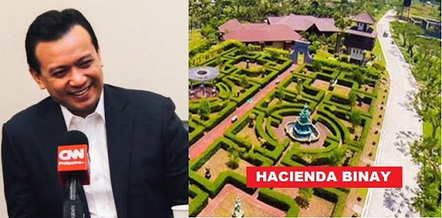 Trillanes proposes Hacienda Binay be used as rehab center