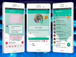 BBM Mod Mi Teal V3.2.5.12 Apk