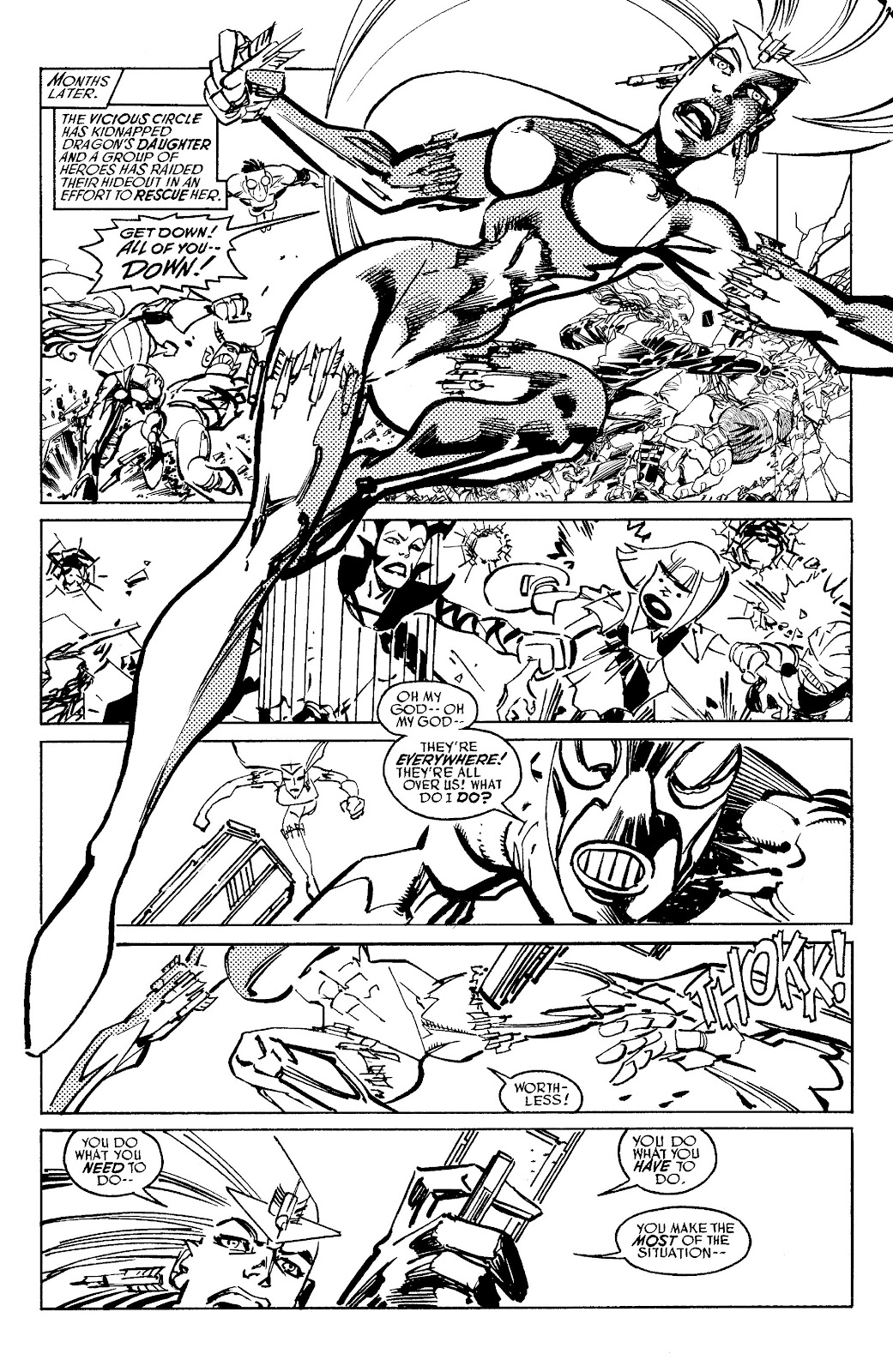 Read online Savage Dragon Archives comic -  Issue # TPB 6 (Part 5) - 66