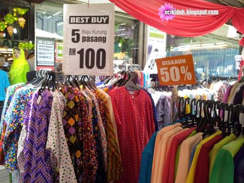 Baju Kurung 5 Pasang RM100 Di Kamdar