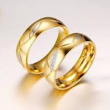 cincin tunangan dan pernikahan