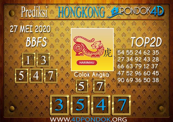 Prediksi Togel HONGKONG PONDOK4D 27 MEI 2020