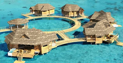 sandals over the water suites