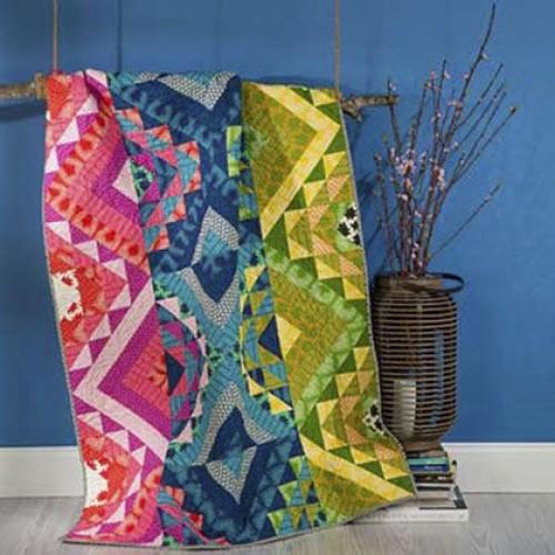 Mosaic Stripe Quilt - Free Pattern