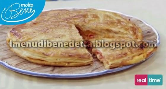 Pizza Di Sfoglia La Ricetta Di Benedetta Parodi
