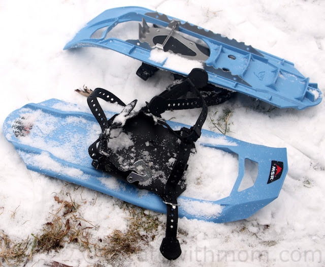 msr youth shift snowshoes