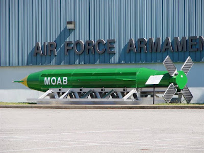 GBU-43B MOAB (Massive Ordnance Air Burst)
