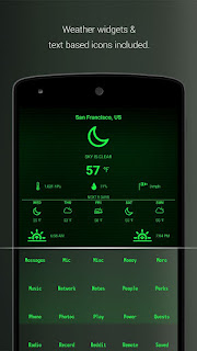 PipTec Green Icons & Live Wall Apk