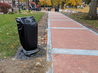 walkway progress this week (beginning 11/4/18)