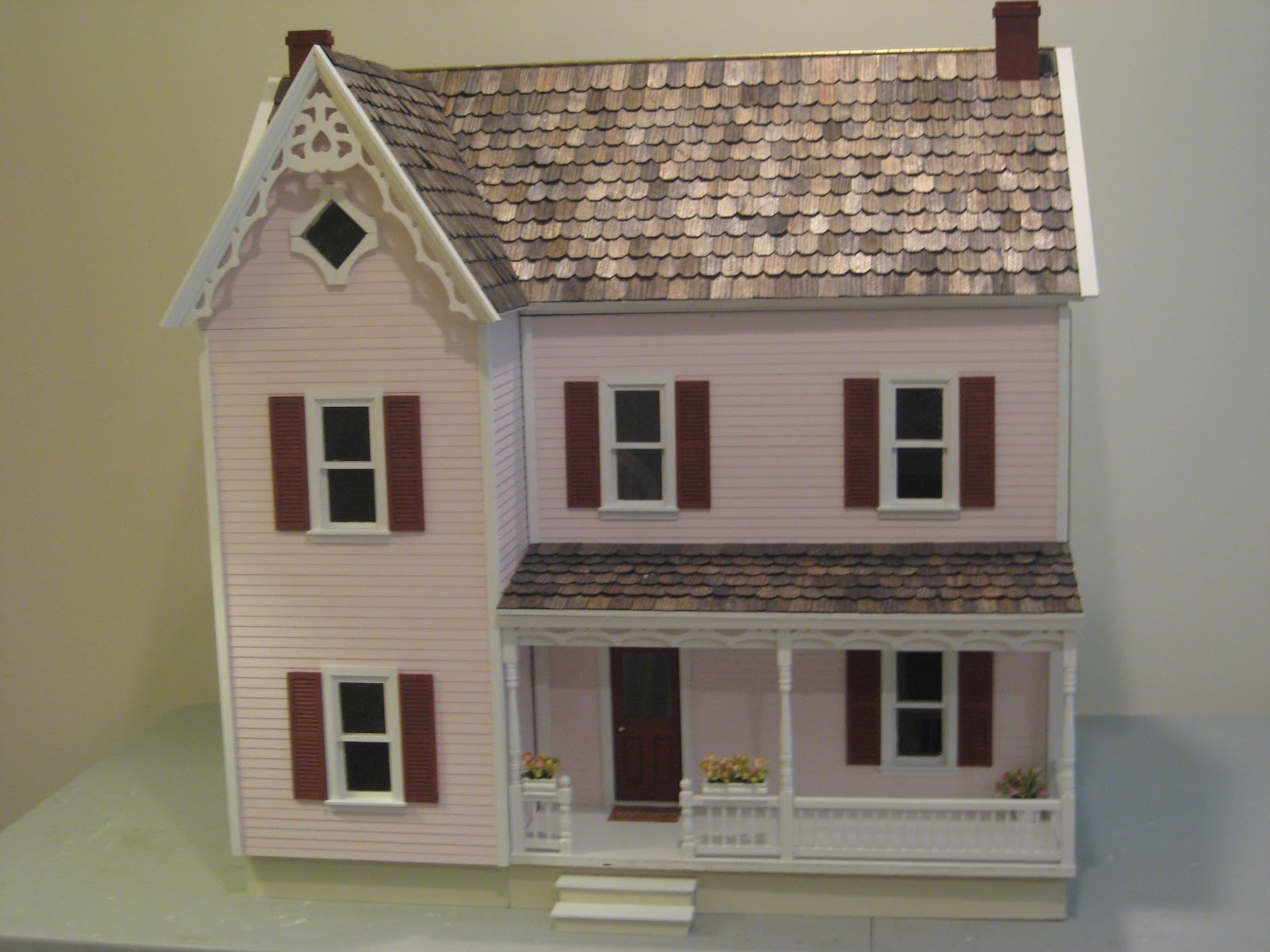 Queen Anne Victorian House Plans Little Darlings Dollhouses Completed Finished And On