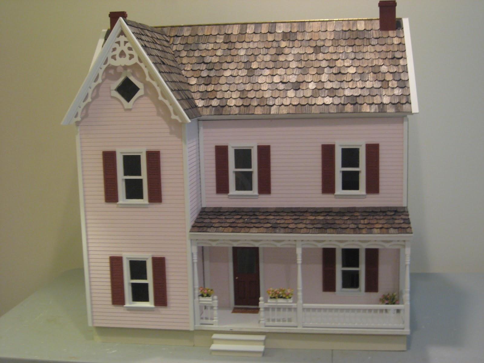 Victoria S Farmhouse Dollhouse Assembled Little Darlings