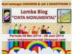 "Lomba Blog ""CINTA MONUMENTAL"""
