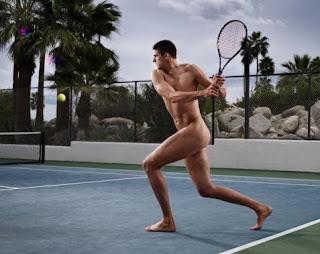 isner sin camisa desnudo pene fotos tenista tenistas