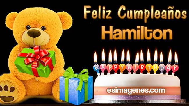 Feliz cumpleaños Hamilton