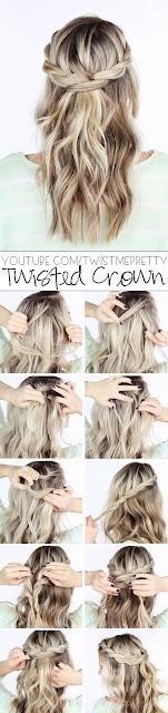 coiffure mariage cheveux mi long lachés 2017