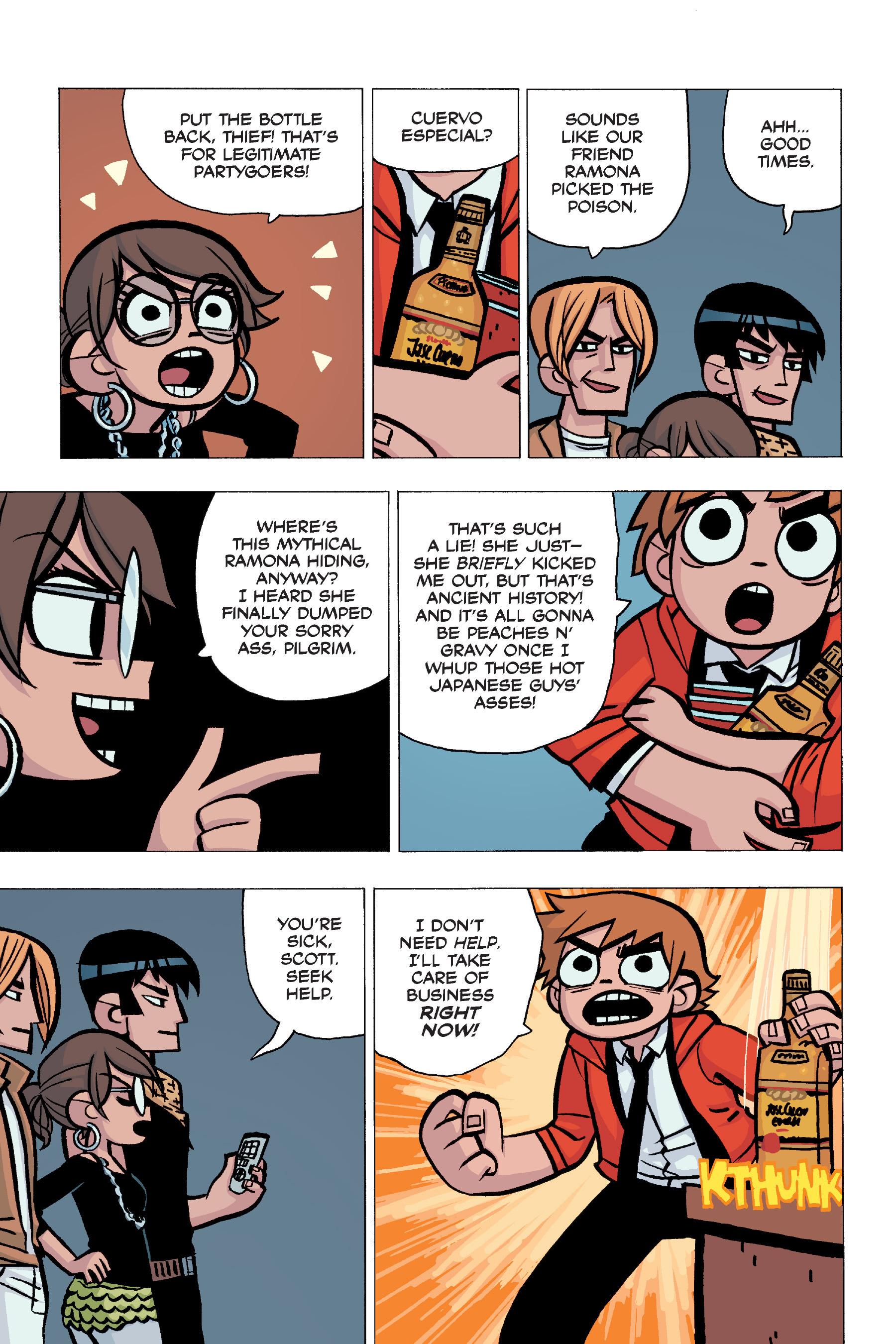 Read online Scott Pilgrim comic -  Issue #5 - 82