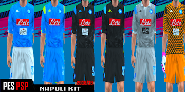 fbe177a48 Napoli Kits 2018 2019 PES PSP (PPSSPP)