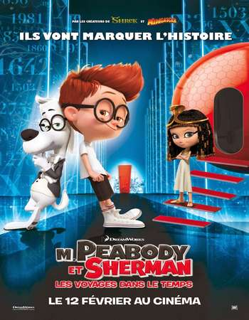 Mr Peabody And Sherman 2014 Hindi Dual Audio 450MB BluRay 720p ESubs HEVC Free Download Watch Online downloadhub.in