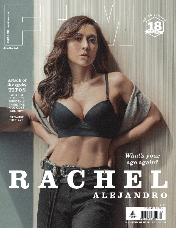 Rachel Alejandro FHM's March 2018 Cover Girl
