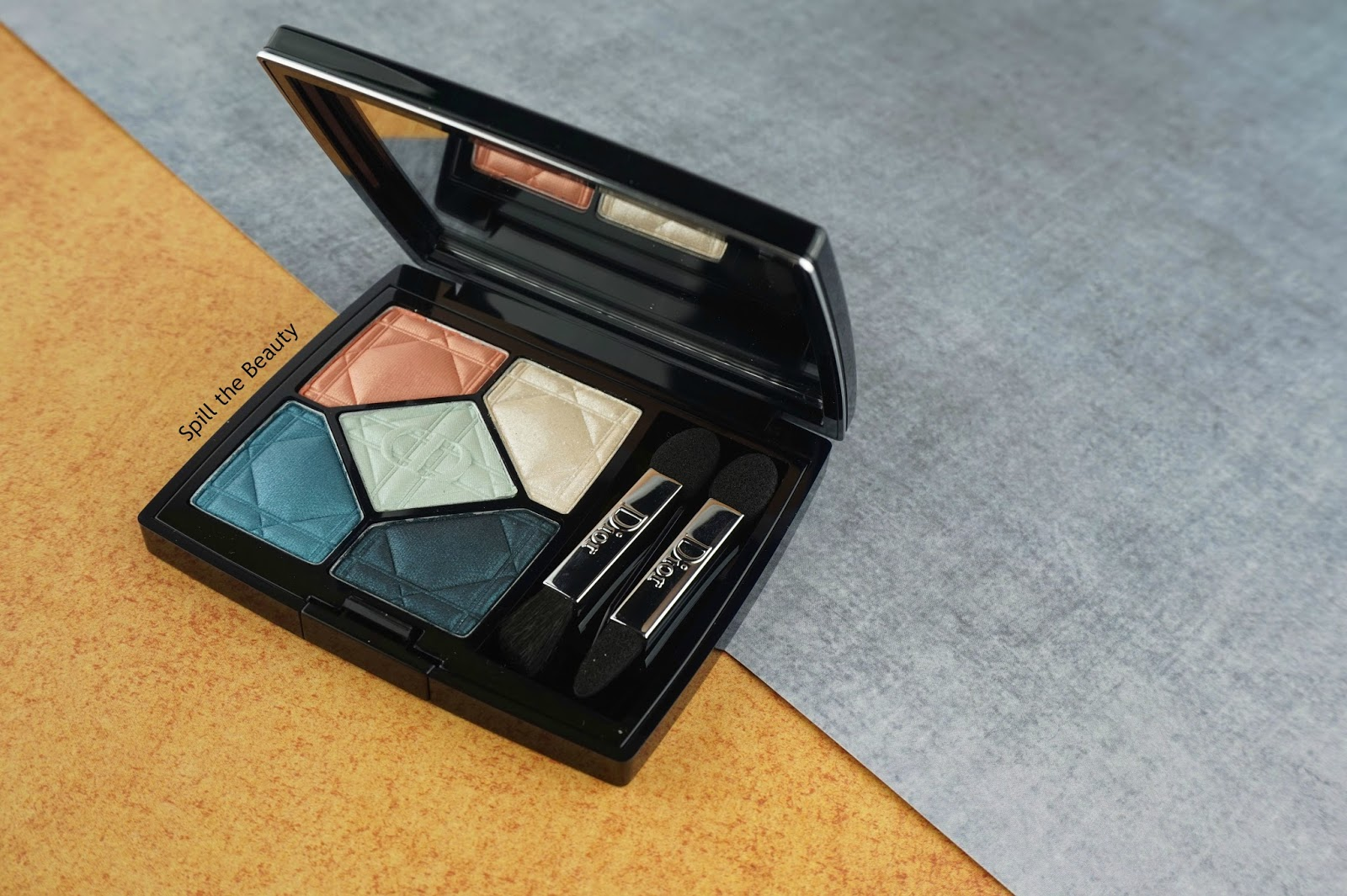 Dior 5 Couleurs Eyeshadow Palette 'Electrify' – Review, Swatches, and Look