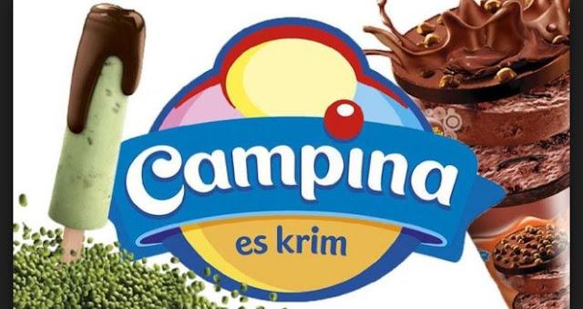 PT Campina Ice Cream Industry Tbk Membuka Lowongan Kerja Terbaru (Lulusan SMA/SMK/Setara/D3/S1)