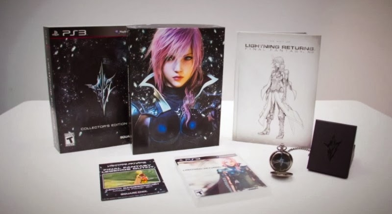 Edición coleccionista de Lightning Returns Final Fantasy XIII