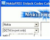 NokiaFree Unlock Code Calculator Latest Version V3.10 Free Download
