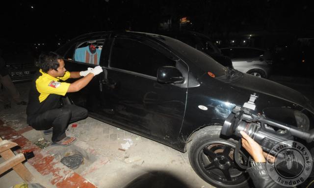 Mobil Wartawan Dipecah Kaca, Uang Nikah Rp 25,5 Juta Raib