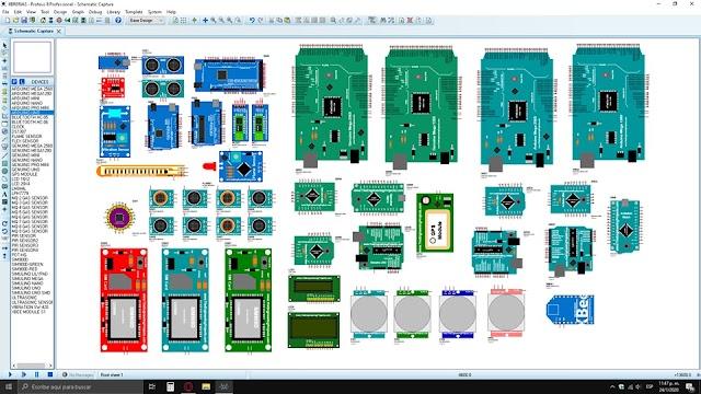 Librerías de Arduino Para Proteus - Incluye Módulos de Sensores