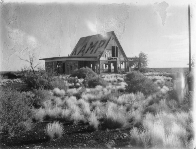 instant photo, land camera, polaroid, abandoned