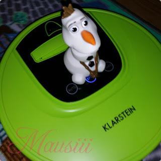 Olaf auf Saugrobter