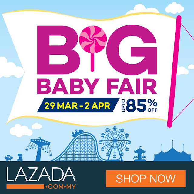 Lazada Big Baby Fair contest