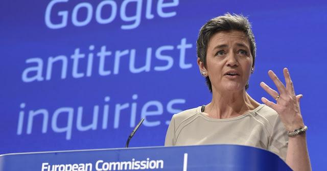Google é multado em quase R$ 9 bi na Europa