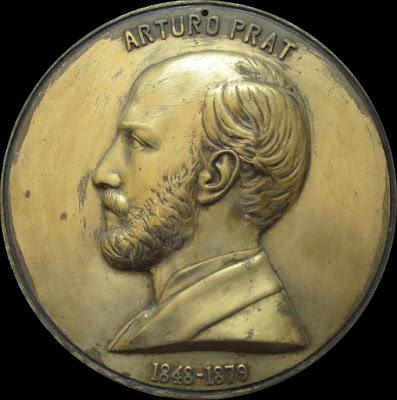 Medallón Arturo Prat EAO