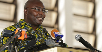 Bawumia reported sick and under medical observation