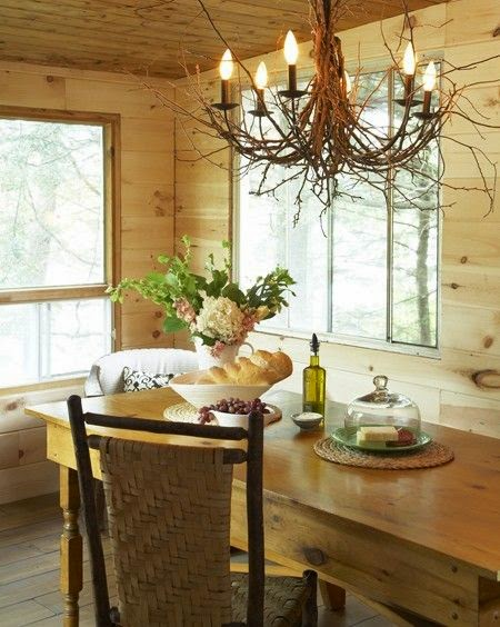 Cottage Dining Room Chandelier