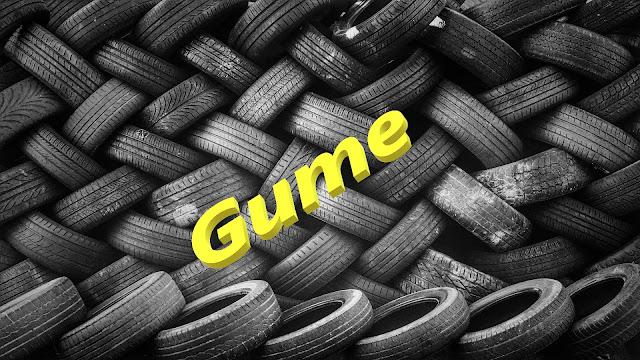 Gume - gomila guma - otpad