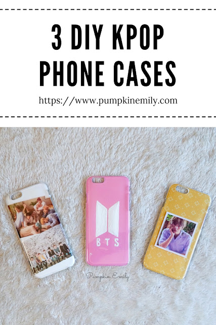 3 Easy DIY Kpop Phone Cases | BTS Edition