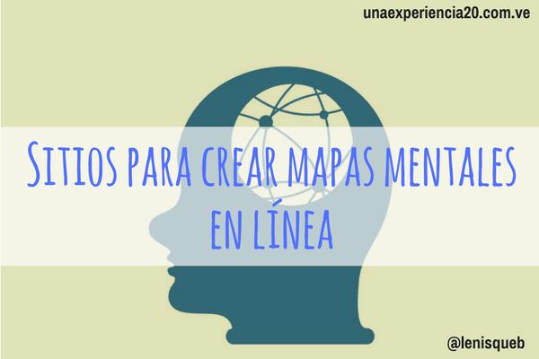 9 Sitios Para Crear Mapas Mentales En Línea Una
